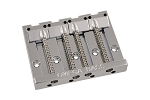 BB-3350-001 4-String Nickel Omega Bass Bridge