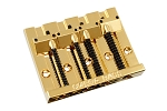 BB-3350-002 4-String gold Omega Bass Bridge