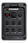 CLA-301 Fishman on-board pre amp system designed for Classical  Guitar. Presys Blend System with integrated Microphone  and Sonicore pick up, Tuner, 3 tone controls, end-pin jack.