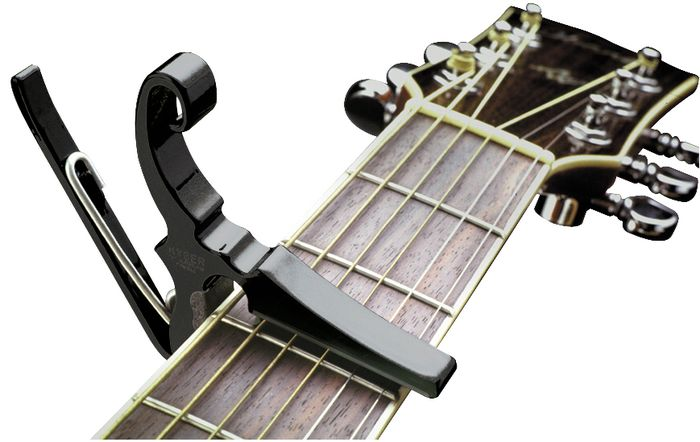 kyser drop d partial capo for open tunings skips the 6th string kgdb. Black Bedroom Furniture Sets. Home Design Ideas