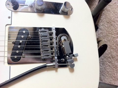 OTT-1  String Bender System, Tele Style,   replaces the original bridge without drilling or routing