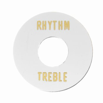 AP-0663-025 Rhythm/Treble Ring, Plastic ,White