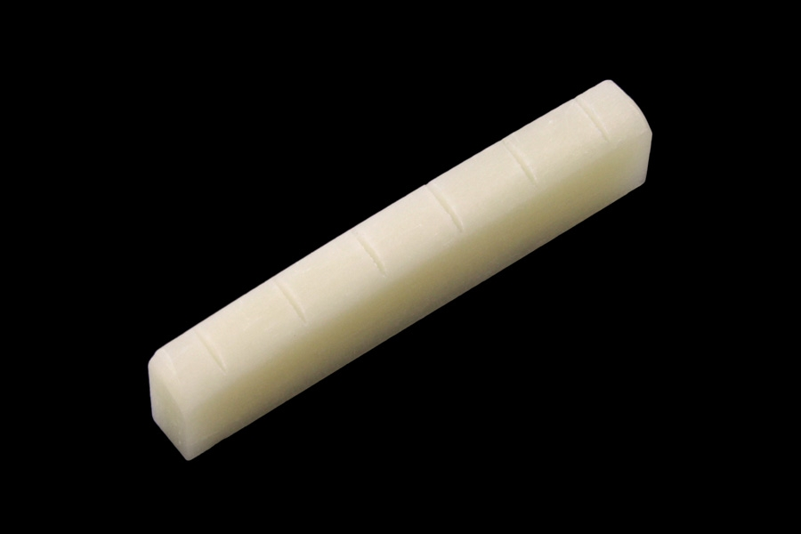 BN-2804-0U0 Unbleached Bone Nut , Slotted,for Gibson®