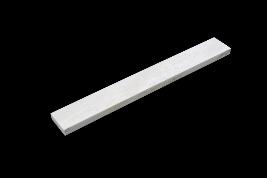 BS-0293-000 Woolly Mammoth Ivory Saddle Blank