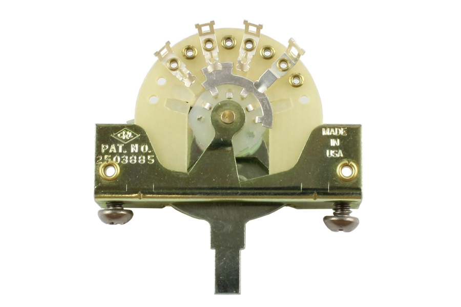 EP-0076-000  5-Way Switch for Stratocaster, Original CRL