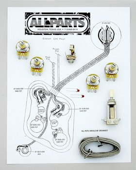 EP-4140-000 Wiring Kit for Gibson® Les Paul®