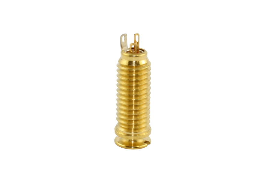 EP-4600-002 Switchcraft Acoustic Gold End Pin Jack