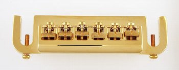 GB-0531-002 Gold Stud Mount Adjustable Bridge