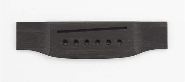 GB-0850-0E0 Ebony Acoustic Bridge