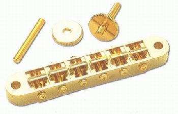 GB-2540-002 Gotoh Gold Nashville Tunematic Bridge