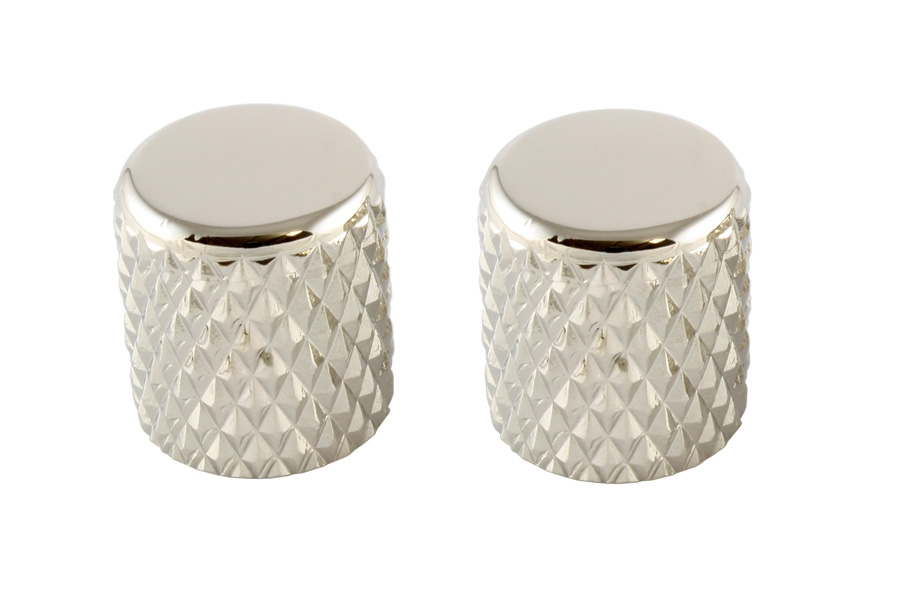 MK-0112-001 Heavy Knurl Barrel Knobs,2pcs , Nickel