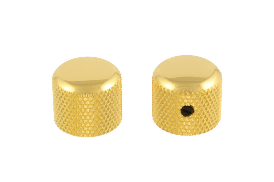 MK-3150-002 Short Gold Dome Knobs