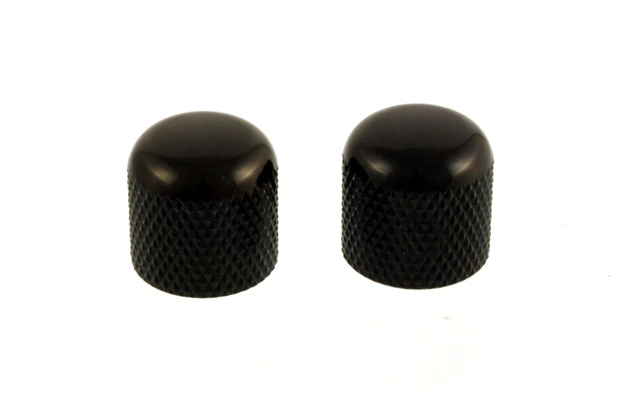 MK-3300-003 Black Dome Knobs