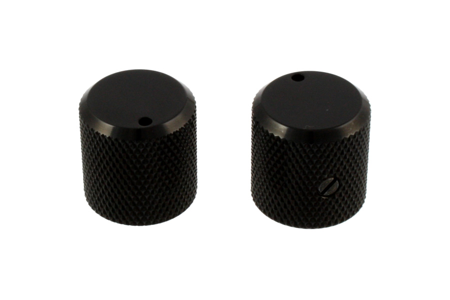 MK-3330-003 Black Metal Knobs
