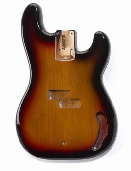 PBF-3SB Precision Bass® Finished Sunburst Body