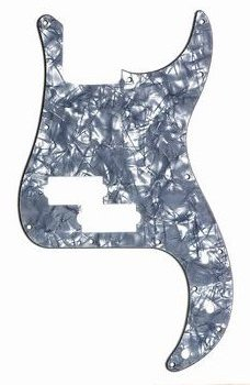 PG-0750-053 Black Pearl Precision Bass® Pickguard