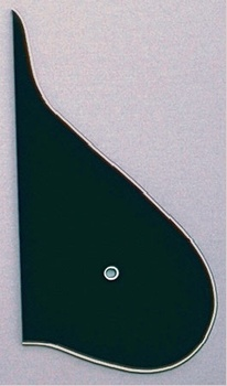 PG-9881-033 Black Mandolin Pickguard