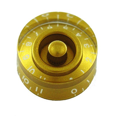 PK-0132-032 Speed Knobs 0-11, 2pcs , Gold