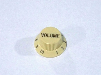 PK-0154-048 Vintage Cream Volume Knobs , 2pcs