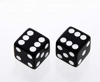 PK-3250-023 Black Dice Knobs