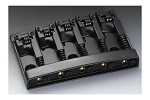 BB-0322-003 Schaller Black 5-String Bridge