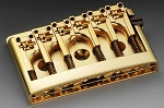 SB-0281-002 Gold Non-Tremolo Bridge