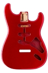 SBF-CAR Stratocaster® Candy Apple Red Finished Body