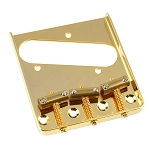 TB-5125-002 Gold Vintage Compensated Saddle Bridge for Telecaster®