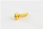 GS-0001-002 Gold Pickguard Screws