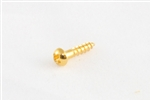 GS-3376-002 Gold Small Tuner Screws