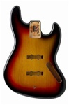 JBF-3SB Jazz Bass® Sunburst Finished Body