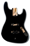 JBF-BK Jazz Bass® Black Finished Body