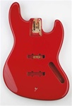 JBF-FR Jazz Bass® Fiesta Fiesta Red Finished Body
