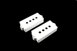 PC-0951-025 Pickup cover set for Precision Bass® White