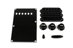 PG-0549-023 Black Stratocaster® Plastic Parts Kit