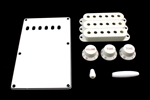 PG-0549-025 White Stratocaster® Plastic Parts Kit