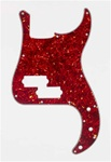 PG-0750-044 Red Tortoise Precision Bass® Pickguard