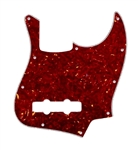 PG-0755-044 Red Tortoise Jazz Bass® Pickguard