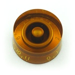 PK-0132-022 Speed Knobs 0-11, 2pcs ,  Amber