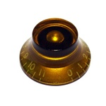 PK-0142-022 Bell Knobs 0-11 Amber 2pcs