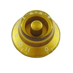 PK-0142-032 Bell Knobs 0-11 Gold 2pcs