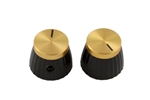 PK-3298-002 Marshall Gold Top Knobs , 2pcs