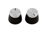 PK-3298-010 Marshall Chrome Top Knobs, 2pcs