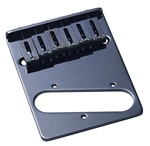 TB-0030-003   6 Saddle Telecaster® Bridge , Gotoh , Black
