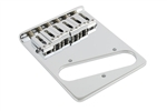 TB-0030-010  6 Saddle Telecaster® Bridge, Gotoh  , Chrome
