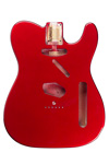 TBF-CAR Telecaster® Candy Apple Red Finished Body