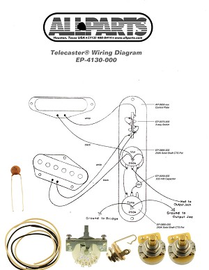 EP-4131-000 4-Way Switch Wiring Kit for Telecaster®