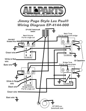 Wiring kit for jimmy page les paul allpartsitalia ep 4144 000 wiring kit for gibson jimmy page les paul cheapraybanclubmaster Gallery