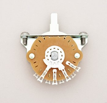 EP-4373-000 3-Way Oak Grigsby Telecaster Switch
